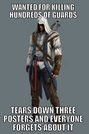 Assassins Creed Memes - assassin s creed 3 logic gaming
