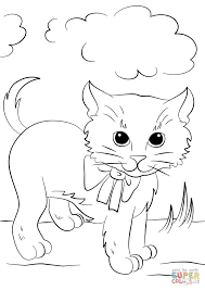 printable coloring pages kittens
