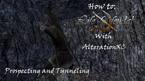 how to life is feudal prospecting and tunneling youtube