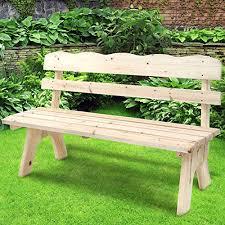 panchina in legno da esterno miadomodo panchina panca da giardino esterno di legno 3 posti