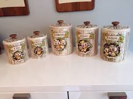 owl kitchen canisters 477 best treasure craft usa made vintage cookie jars images on