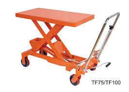 Hydraulic Scissor Lift Table by 750kg 16501b Hand Lift Table Hydraulic Scissor Lift Cart Easy