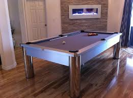 Dining Room Table Pool Table - los angeles contemporary pool table home bar with game room ideas