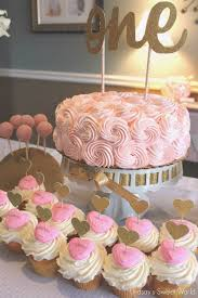 pink and gold cake table decor birthday cake table decoration with pink color 1000 ideas about pink