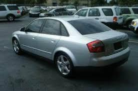 audi a4 2004 silver 2004 audi a4 4dr 1 8t turbo sedan in apopka fl a to z auto sales