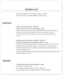easy resume templates this is easy resume exles goodfellowafb us