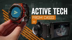 casio u0027s huge smartwatch u0026 rugged action cam hands on youtube