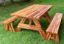 Best Wood For Furniture Wood Picnic Table All About House Design Best Wood Picnic Table