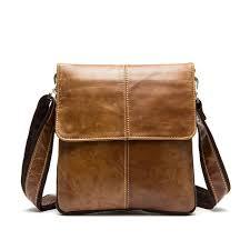 men messenger bags high quality genuine leather bag vintage men
