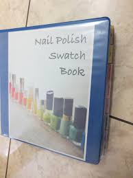 polish u0026 puppies nail polish swatch book