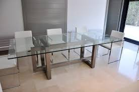 dining tables galvanized metal top dining table stainless steel