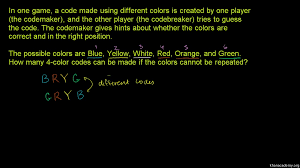 ways to arrange colors video khan academy