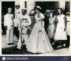 aug 08 1954 haile selassie attends thanksgiving mass at athens