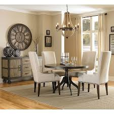 casual dining room sets walton dining room set w upholstered chairs casual dining