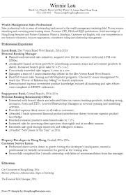 Sample Resume Com by Tour Manager Cover Letter