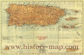 Map Of Puerto Rico by Rico Railroad Map