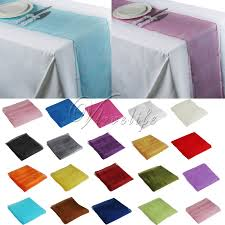 fabric for table runners wedding 5pcs lot sheer organza fabric 30cm x 275cm organza table runner