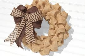 2014 wreaths decor ideas chevron burlap wreath fall universal