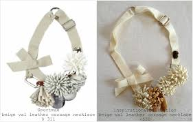 diy leather necklace images Inspiration and realisation diy fashion blog diy leather corsage jpg