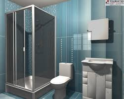 Teal And Grey Bathroom by Polmaster Construction U0026 Tile Ltd