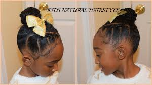 hairstyles using rubber bands kids natural hairstyles rubberband plaits and bun back to school