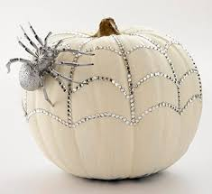 How To Make Halloween Pumpkins Last Longer - the blinged out pumpkin pumpkin ideas spider and knives