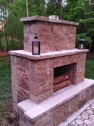 build an outdoor fireplace cheap home design ideas