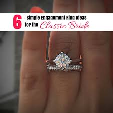 simple engagement rings for 6 simple engagement ring ideas for the classic