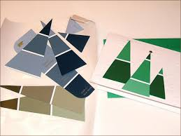 49 awesome diy holiday cards paint chips paint store and diy
