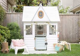 Summer Garden Sheds - these kids playhouses are perfect for the summer nonagon style