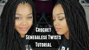 how many packs of expression hair for twists tutorial crochet senegalese twists outre x pression youtube