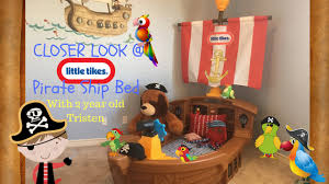 a look at the little tikes toddler pirate ship bed pirate themed