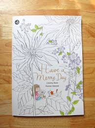 a merry day coloring book pre order merryday