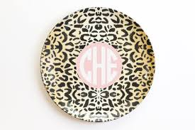 personalized melamine platter plates when it rains paper co colorful and paper goods