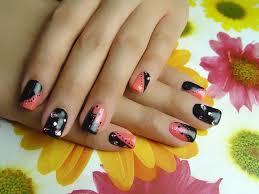 black nail arts arts