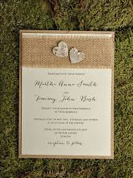 burlap wedding invitations 22 burlap wedding invitation ideas weddingomania burlap