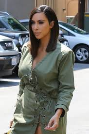 kim kardashian west goes for the blunt bob vogue