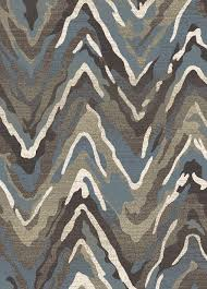 Brown And Blue Rug Amazing Blue And Brown Rug Creative Ideas Casa 8676 Waves Blue