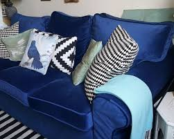 Ikea Slipcovers Custom Custom Ikea Ektorp Sofa Bed Slipcovers In Velvet