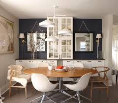 Interesting Decorating Ideas Dining Room Design And In - Decorating dining room walls