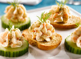 canapes recipe smoked salmon mousse canapes recipe dairy goodness