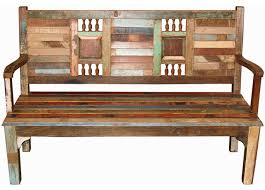 recycled wood bench asian indoor benches other by tansu design