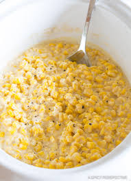 cooker creamed corn a spicy perspective