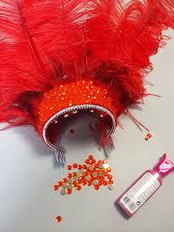 jessica u0027s diy feather headdress costumes mardi gras and headdress