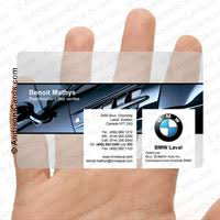 Clear Business Cards Business Cards