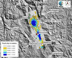 Norcia Italy Map Sentinel 1 Provides New Insight Into Italy U0027s Earthquake Sentinel