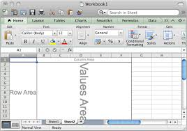 How To Do A Pivot Table In Excel 2013 Ms Excel 2011 For Mac How To Create A Pivot Table
