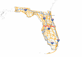 Florida Toll Road Map by Florida State Road 50 Wikipedia