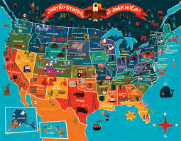 best 25 50 states of usa ideas on america map with