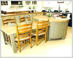 kitchen island with attached table kitchen island attached eating